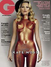 GQ Magazine Italia Italy Kate Moss Kim Kardashian NEW