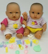 """Berenguer 8"""" Lots To Love Baby Dolls Lil Cutie Chubby Accessories Lot 4 Reborn"""