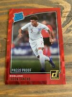 2018-19 Donruss Red Press Proof Soccer Jadon Sancho England RC Rookie