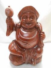 Vintage Wooden Man Statue DAIKOKUTEN SEVEN LUCKY GODS Japanese  #51