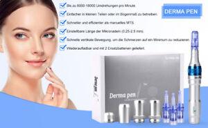 Elektrischer Derma Pen Dermaroller Microneedling 0,25-2,5 Hautpflege,Falten,Akne
