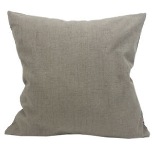 CURCYA Like Linen Thick Sofa Seat Cushion Cover Home Decorative Pillow Cases