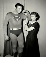 I Love Lucy Lucille Ball and George Reeves Superman 8x10 Photo