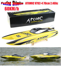 Volantex V792-4 70cm ATOMIC 2.4Ghz 1800KV Brushless RTR 60 km/h RC Racing Boat