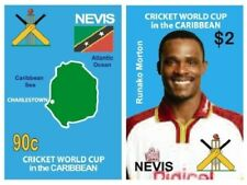 Nevis 2007 - CRICKET WORLD CUP - Set of 2 Stamps - SC 1494-5