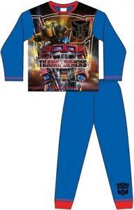 Older Boys Official Transformers Pyjamas Blue 4-10yrs Pyjama Set FREE UK P&P