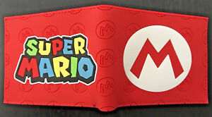 Super Mario Bros Wallet Purse Mens Kids ID 3D Nintendo 3DS SNES N64 Wii U AUS