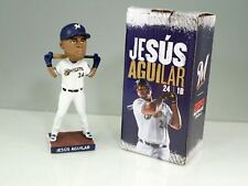 2019 Milwaukee Brewers Tampa Bay Rays Jesus Aguilar Bobblehead In Box