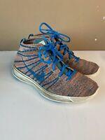 Nike Lunar Flyknit Chukka Brave Blue Mens Size 10