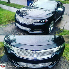 2017 Chevy Impala chrome mesh grille triple weave grill 3rd gen Tiarra