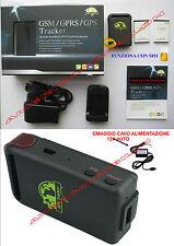 GPS Tracker SIM Dispositivo di tracciamento autoveicoli TK102 + CAVO 12V AUTO