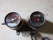 1982 82 1983 83 Honda CM250C CM 250 C Gauge Cluster Speedometer Pilot Gauge