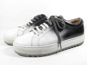 Salvatore Ferragamo Lan8 Ombre Platform Sneaker Men size 7.5 EEE