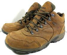 Cabela's X4 Adventure Mid Walking Shoes Waterproof Brown Leather Size 13 D Men's