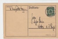 germany 1924 stamps card ref 18957