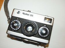 Rollei 35 German compact camera Carl Zeiss lens with Owners Manual