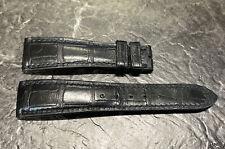 Roger Dubuis Black Alligator Leather Strap 20.0/16.0- 110/75