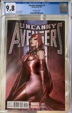 Uncanny Avengers #1 Adi Granov 1:75 Scarlet Witch  Variant 2012 CGC 9.8 White