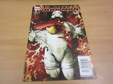 Rare Invincible Iron Man #23 Newsstand Error Variant See Barcode!