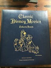 Classic Disney Movies Collector Panels  , 13 Stories with Stamps