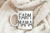 Farm Mama Mug Farm Mom Shirt Pig Mom Chicken Mom Cow Mom Farm Life Mom Mug Gift
