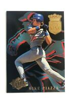 1994 Fleer Ultra MIKE PIAZZA Dodgers Homerun King Baseball Insert Card #12