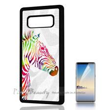 ( For Samsung S10 Plus / S10+ ) Case Cover P10616 Rainbow Zebra