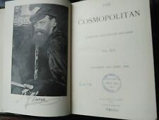 The Cosmopolitan MAGAZINE BOUND EDITION November 1893 to April 1894