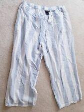 afbf437ff553f Linen Blend Wide Pants for Women