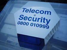 Vintage Telecom Security Live Elmdene Alarm Bell Box Burglar Alarm Siren