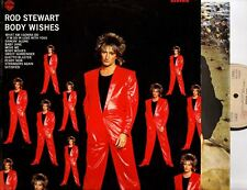 ROD STEWART body wishes (original Italian press & inner) LP EX-/VG 92-3877-1 pop