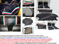 COPRISEDILI FIAT 500 FLR CINQUINO LINEA BASE-PERSONALIZZATA LUNETTE TRICOLORE !!