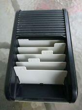 Helit 62180 Visitenkartenbox schwarz für bis zu 300 Visitenkarten