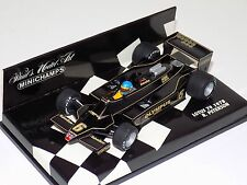 1/43 Minichamps F1 Lotus 79 from 1978 Ronnie Petreson John Player Special