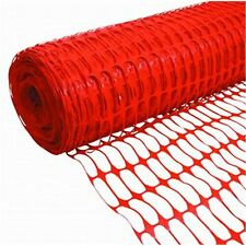 Bastion Orange SAFETY MESH FENCE for Zoning off Construction areas & Work Sites