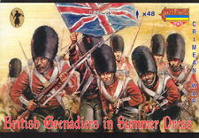Strelets-R 1/72 M032 British Grenadiers in Summer Dress (Crimean War) (48 Figs)