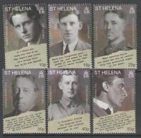 ST.HELENA SG1077/82 2008 90th ANNIV OF END OF WORLD WAR I MNH