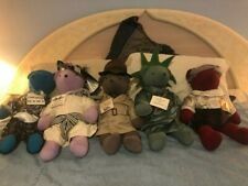 North American Bear Company collection of 5