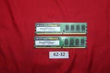 2x2gb Corsair VS2GB800D2 2GB, PC2-5300  DDR2 SDRAM, 667 MHz Valueselect