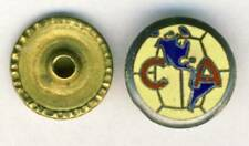 antique CLUB AMERICA Fútbol PIN Badge Mexico SOCCER Football Estadio Azteca CA