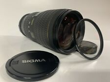 Sigma 70-200mm F2.8D APO EX HSM Lens For Nikon With Promaster 77mm UV Filter