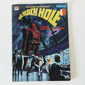 Vintage Activity Book Black Hole From 1979