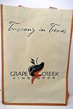 Grape Creek Vineyards Tuscany In Texas Wine Tote Bag Fredericksburg Texas Ivory