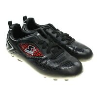 STARTER Black Soccer Sports Cleats Shoes Youth Size 1M