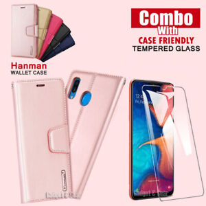 For Samsung Galaxy A50 A70 A90 A20 A30 Flip Wallet Case Leather Stand Case Cover