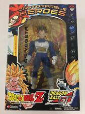 Dragon Ball Z Unstoppable Heroes 9'' SS Vegeta Limited DBZGT Jakks New Sealed