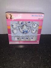Barbie Mini China Tea Set - 11 Pieces - Nib