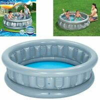 INFLATABLE SPACESHIP CHILDREN KIDS OUTDOOR GARDEN SWIMMING PADDLING SPLASH POOL