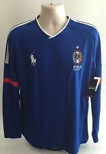 Polo Sport Ralph Lauren MENS FRANCE Soccer Long Sleeved Shirt XL NEW
