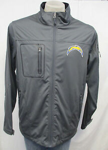 Los Angeles Chargers NFL Men's Large Gray Therma Base Jacket